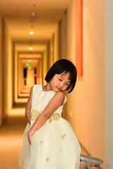 She *hopes* is a princess (Arnold Adikrishna) Tags: nikon d7200 nikkor 50mmf18d niftyfifty portrait white dress godox tt350n flashgun