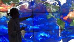 leslee ott (13winds) Tags: lesleyott visualization aerosol model nasa goddard space flight center science particles smoke fire dust seasalt particulates earth