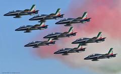 Jesolo18_Sani# 1919 (Luigi Sani) Tags: aviazione aerei aeronautica aerobatic aeronauticamilitare aermacchi aviation airplanes airshow airplane jesolo jesoloairshow freccetricolori pan planes