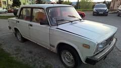 Lada 2105 in Roznava (uksean13) Tags: lada 2105 banger car phonepicture slovakia