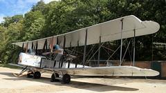 Vickers Vimy Replica NX71MY (BIKEPILOT, Thx for + 4,000,000 views) Tags: vickersvimy replica nx71my aircraft aeroplane flight bomber biplane aviation twinengine brooklandsmuseum aviationday uk