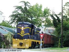 Tourist Train (Picsnapper1212) Tags: tourist train locomotive deisel engine railroad passengers quaint historic lebanon ohio chesapeakeohio co
