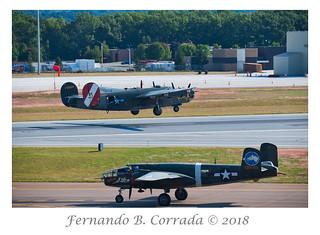 B-24 Liberator & B-25 Mitchell (9515)