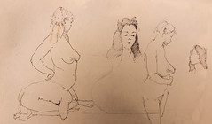 gesture drawings 51 lifeclass (troycrisswell) Tags: art drawing lifeclass troycrisswell