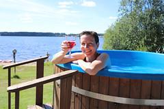 Palju - Bathing tub (iisalmiregion) Tags: palju bathingtub järvi järvimaisema lake summer kesä haapaniemenmatkailu finlandlakeland lakeland iisalmi