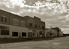 disappearing soon (Patinagal) Tags: streetscape relic decay patina commercial storefronts shoshoni