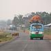 Bus on Bolaven Plateau, Laos