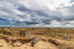 Cabins on Blakeney Point (andybam1955) Tags: landscape blakeneypoint coastal blakeney sky northnorfolk boats rural norfolk clouds