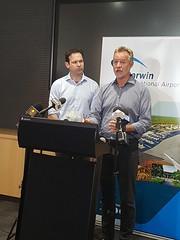 NT airports NAIF announcement, Darwin, 06/09/2018