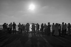 DSC_1638 (Dan_lazar) Tags: charlesclore telaviv israel beach shofar roshhashana jews sea sunset prayer bw bnw blackandwhite orthodox