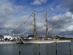 Tre Kronor af Stockholm i Norrtälje (tompa2) Tags: segelfartyg brigg norrtälje uppland