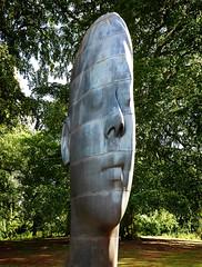Jaume Plensa_Wilsis (chrisduncash) Tags: jaumeplensa wilsis yorkshire ysp yorkshiresculpturepark bretton sculpture sculpturepark