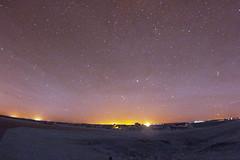 2018_0915_HavanaAirport_CS (ConstanceiS) Tags: havana illinois stars star galaxy milky way infrared canon fisheye trails plane flying aircraft planes sky pilot night long exposure