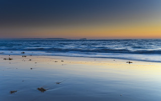 Clear Skies Sunrise Seascape