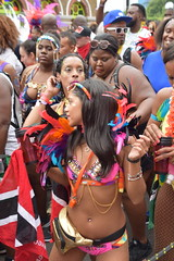 DSC_8500 (photographer695) Tags: notting hill caribbean carnival london exotic colourful costume girls dancing showgirl performers aug 27 2018 stunning ladies