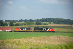 Quad Graphics Local (jberg43) Tags: byronhill sd40t3 sd402w ble cn