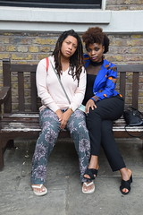 DSC_6674 John Wesley's Chapel City Road London with Alesha from Jamaica and Tricia from Ghana Two Beautiful Ladies (photographer695) Tags: john wesley's chapel city road london with alesha from jamaica tricia ghana two beautiful ladies