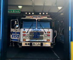 NYPD (New York City Police Department) Emergency Service Unit Truck 10 2015 E-One Cyclone (NY's Finest Photography) Tags: highway patrol state nypd fdny ems police law enforcement ford dodge swat esu srg crc ctb rescue truck nyc new york mack tbta chevy impala ppv tahoe mounted unit service squad dcu