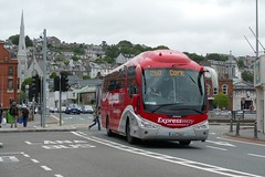SP 111 Cork 17/08/18 (Csalem's Lot) Tags: bus buseireann cork sp111 scania irizar expressway sp 260 clontarfstreet