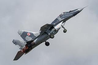 111, Mikojan Gurewitsch MiG-29A Polish Air Force @ Fairford EGVA