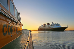 Disney Dawn. (MSGS4) Tags: cobh cork ireland harbour cruise ship disney line disneymagic