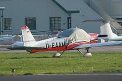 D-EAAM (IndiaEcho Photography) Tags: deaam mbb bo 209 mosun shoreham brighton city airport airfield light general civil aircraft aeroplane aviation canon eos 1000d egka esh west sussex england