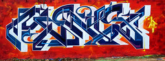 graffiti in amsterdam (wojofoto) Tags: amsterdam nederland netherland holland graffiti streetart wojofoto wolfgangjosten ndsm mens