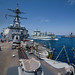 US, Australian, and Canadian navies conduct replenishment-at-sea maneuvers during Kakadu 2018