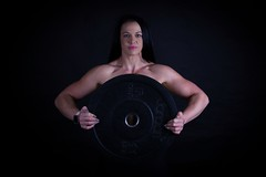 Big weights (charenty) Tags: studio lowkey bodybuilding fitness training musle weights toned