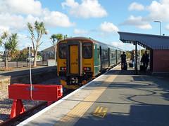 150202 Newquay (7) (Marky7890) Tags: gwr 150202 class150 sprinter 2n09 newquay railway cornwall atlanticcoastline train