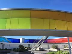 Regenbogen Panorama ARoS Museum (Sockenhummel) Tags: aros museum regenbogen rainbow iphone rainbowpanorama