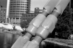 turnbuckles (bergytone) Tags: film bw blackandwhite olympus om om2n