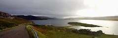 Driving down the Loch (Sundornvic) Tags: scottish highlands driving north 500 glens landscape grey raining travel