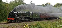 SEVERN VALLEY RAILWAY AUTUMN GALA (chris .p) Tags: nikon d610 train steam severnvalleyrailway shropshire england autumn 2018 royalscott lms highley september capture