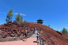 Lava Butte Lookout house (daveynin) Tags: newberry volcanic oregon lookout tourist trail