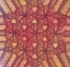 Uncovered Treasure Pattern - Ben Parker (Monika Hankova) Tags: origami tessellation flagstone