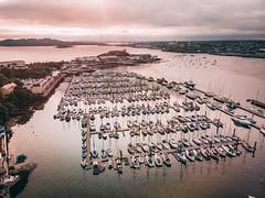 DJI_0184 (tom_acton) Tags: plymouth devon turnchapel mayflower mayflowermarina sea water boats mountbatten ocean