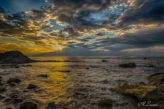 Sunset Saint Jean de Luz (64) (Shoot Enraw) Tags: sunset coucherdesoleil pyrénnéesatlantiques saintjeandeluz océan nuages reflets clouds