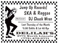 Delilah's Ska & Reggae Night (booboo_babies) Tags: night music blackwhite advertisement nightclub chicago illinois ska reggae july2018 2018 club bar dj