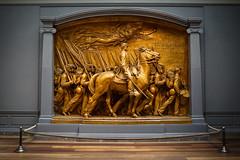 The 54th (BenBuildsLego) Tags: glory movie national gallery dc washington bronze plaster museum memorial civil war 54 54th massachusetts usa american sculpture sculptor escultura statue