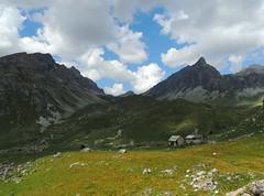 Grange ai piedi della Rocca Provenzale (antonella galardi) Tags: piemonte montagna cuneo valmaira 2018 acceglio chiappera trekking escursione escursionismo sentiero pioggia roccaprovenzale grange