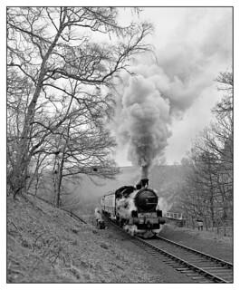 Lambton Tank No. 5 at Thomason Foss, North York Moors Railway