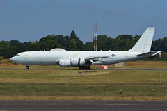 US Navy Boeing E-6B Mercury 163918 (James L Taylor) Tags: us navy boeing e6b mercury 163918 raf100 celebration royal international air tattoo 2018 riat18 park view west arrivals day wednesday 11th july from united states navys fleet reconnaissance squadron 4 vq4 nicknamed shadows based out tinker force base oklahoma