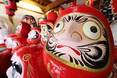 DARUMA (Teruhide Tomori) Tags: kyoto japan japon daruma doll toy temple red 達磨 だるま 人形 京都 日本 だるま寺 法輪寺