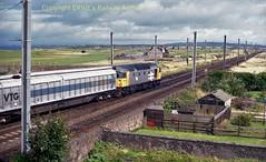 Falkland Yard 26040 11aug88 a039 (Ernies Railway Archive) Tags: ayr falklandyard gswr lms scotrail