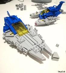 Some new NCS wip... (Devid VII) Tags: ncs devidvii devid vii lego moc classic space neo neoclassicspace spaceship