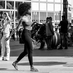 german grace (every pixel counts) Tags: 2018 berlin city mitte eu wirsindmehr capital germany everypixelcounts blackandwhite 11 alexanderplatz girl bw square europa street hair blackwhite people woman berlinalive