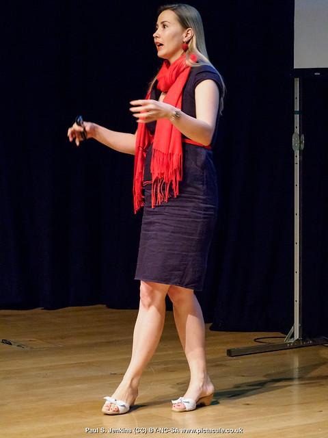 P8300142 Joanna Bagniewska at Winchester Skeptics