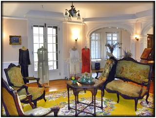 Sonnenberg Gardens & Mansion ~ Historic Park ~ Canandaigua NY -  Former Sitting Room - Museum