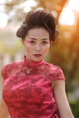 Lorraine 2 (rmmacalaladphoto) Tags: portrait red dress fujifilm xt20